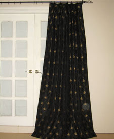 from patterned of drapes curtains gold leaf a infinity opportunities sheer living pair embroidey room pattern